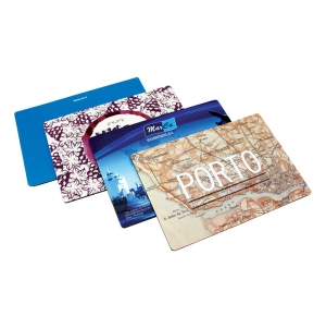 NORMAL MOUSE PAD 4 COLORS 1 SIDE 21X15CMS
