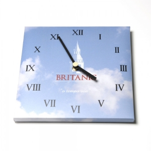 WALL CLOCK SMALL WITH FULL COLOR PRINT