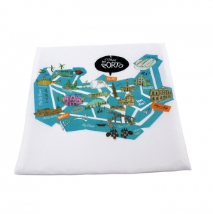 POLYESTER COVER FOR PILLOW, FULL COLOR PRINT