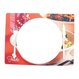 A3 TABLE MAT, POLYESTER, FULL PRINT