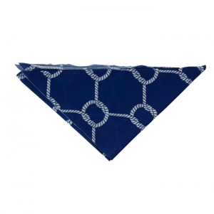 TRIANGLE SCARF POLYESTER , FULL COLOR PRINT