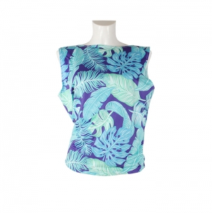SLEEVELESS SHIRT SINGLE SIZE FULL PRINT