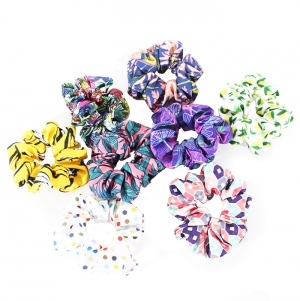 SCRUNCHIE W / ELASTIC POLYESTER. TOTAL PRINTING INC