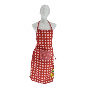 APRON WITH POCKET FOR ADULT, POLYESTER, FULL COLOR PRINT
